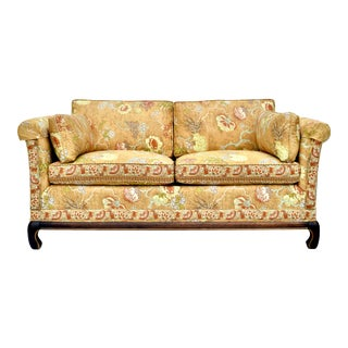 Chinoiserie Ming Style Loveseat Settee For Sale
