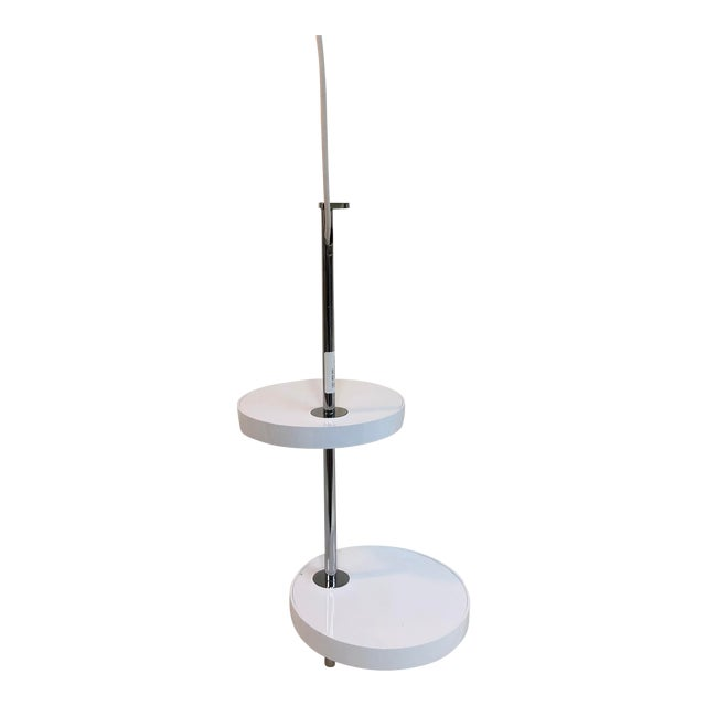 Marset Nenufar 2 Disc Pendant in White For Sale