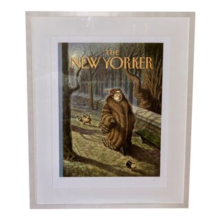 """""""Tailed"""" Framed New Yorker Print by Peter De S'eve For Sale"""