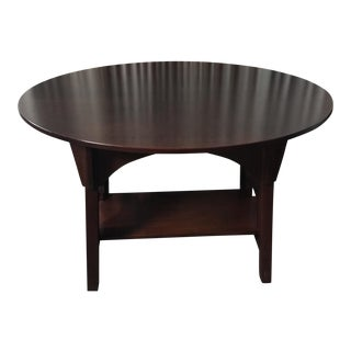 Stickley Limbert Quarter Sawn Oak Oval Library Table For Sale