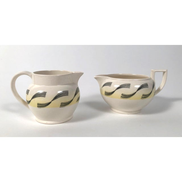 Eric Ravilious Garden Series Coffee Service for Wedgwood - 4 Pc. Set For Sale - Image 9 of 13