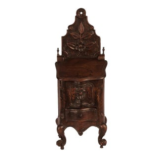 Walnut Salt Box, France Circa 1840 For Sale