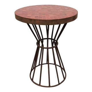 Tazi Designs Moraccan Mosaic Tile Side Table