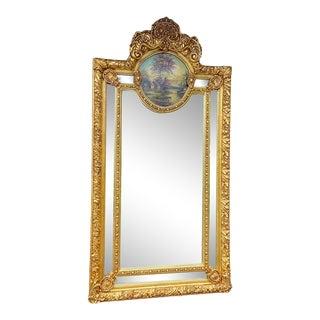 Baroque/Rococo Style Mirror Gold Frame. New For Sale