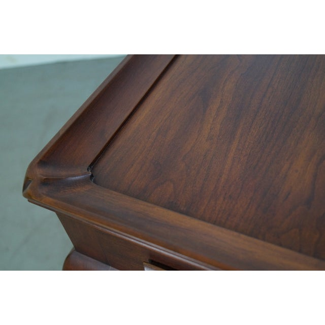 Henkel Harris Solid Cherry Queen Anne Tea Table - Image 6 of 10