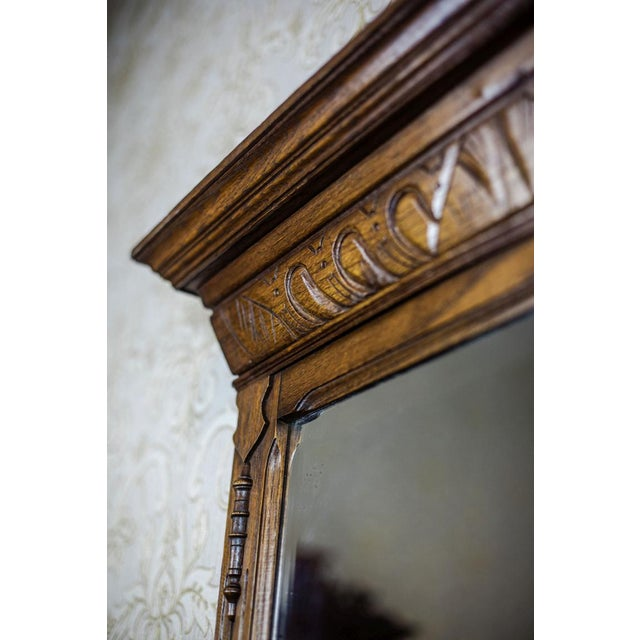 Wood 19th-Century Neo-Renaissance Pier Glass For Sale - Image 7 of 8