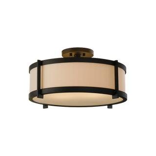 Irving 2 - Light Flushmount, Oil Rubbed Bronze For Sale