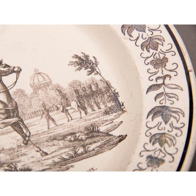 Set Eight Antique French Transferware Plates, c.1860 For Sale - Image 10 of 11