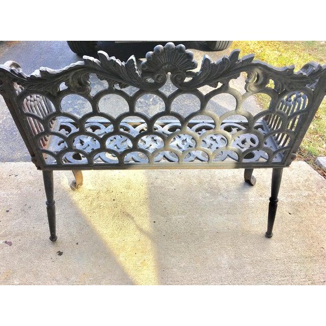 Cast Iron Garden Patio Bench - Image 8 of 11