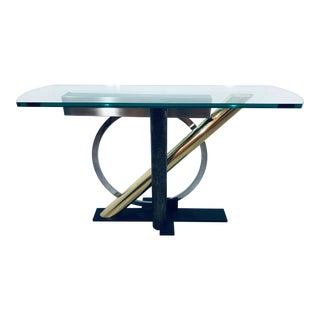1980s Memphis Kaizo Oto for DIA Post Modern Console Table For Sale