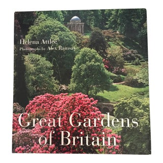 "2011 ""Great Gardens of Britain"" First Edition Book For Sale"