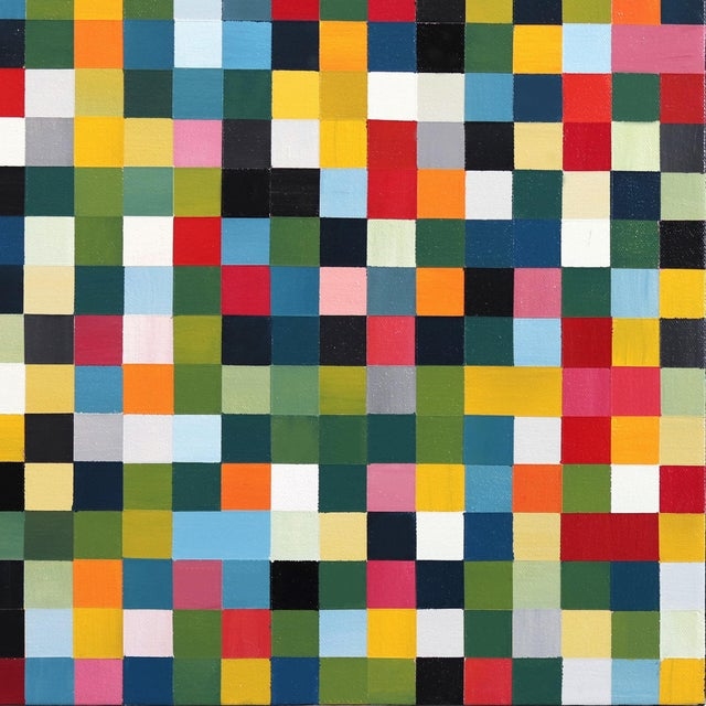 "2010s ""1296 Squares"" Original Artwork by Brandon Neher For Sale - Image 5 of 9"