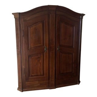 19th Century Traditional Wooden Armoire For Sale