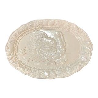 White Thanksgiving Platter For Sale