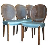Image of Set of Four Chairs by Axel Einar Hjorth for Nordiska Kompaniet For Sale