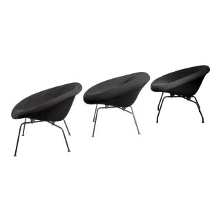 Set of 3 Prototype Chairs by Dutch Architect Ing. j.g. Athmer For Sale