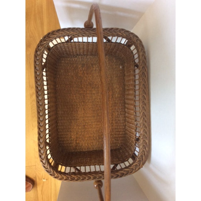 Rattan Basket Stand - Image 10 of 11