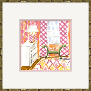 """""""Interiors - River Cottage"""" By Dana Gibson, Framed Art Print For Sale"""