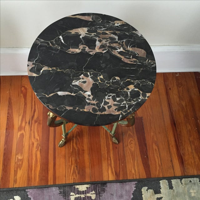 Antique French Marble Table - Image 8 of 9