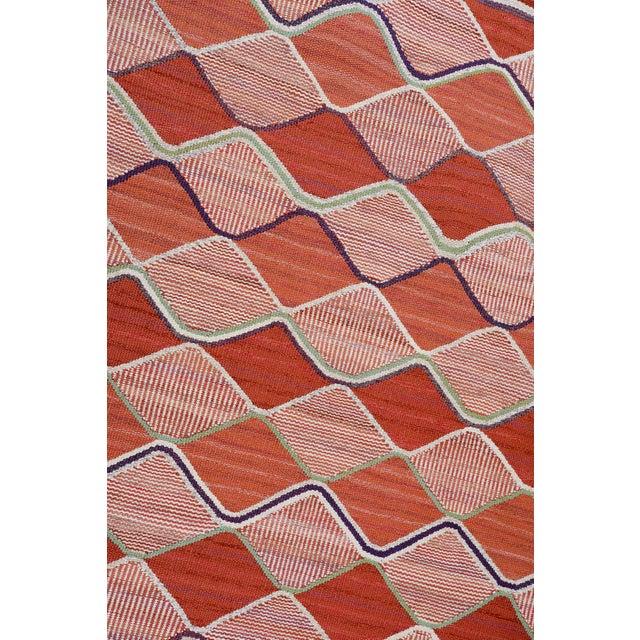 Vintage Barbro Nilsson Flat-Weave Swedish Carpet for Marta Maas-Fjetterström - Image 4 of 10
