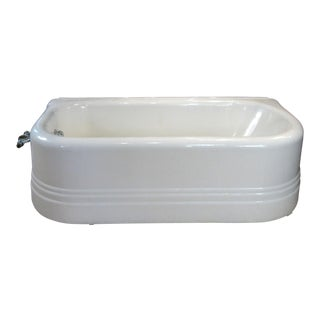 Antique Cast Iron Soaking Tub For Sale