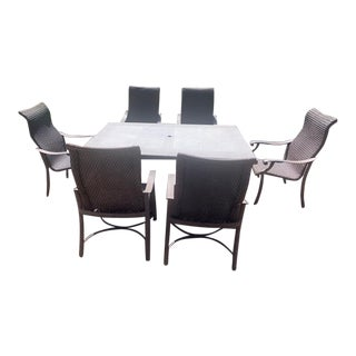 Tropitone Montreux Collection Outdoor Furniture Patio Set For Sale