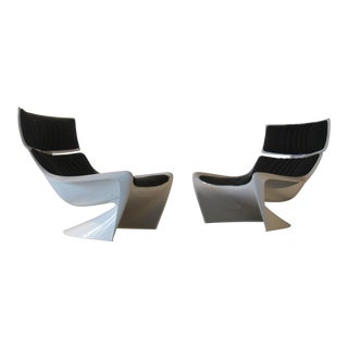 1960s Steen Ostergaard President Meteor Chairs by Cado-A Pair For Sale