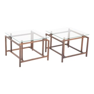 1960s Henning Norgaard for Komfort Side Tables - a Pair For Sale