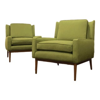 Mid Century Modern Paul McCobb Style Lounge Chairs- A Pair For Sale