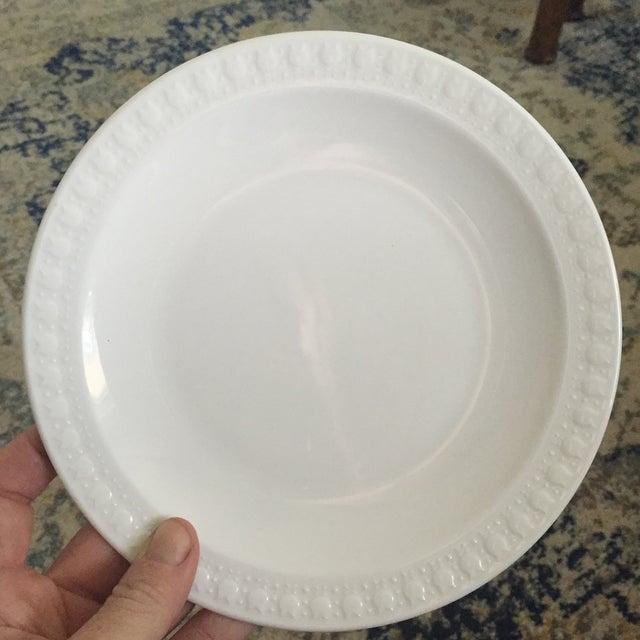 Vintage Corning Pyroceram Tableware White Dessert Plates - Set of 6 - Image 10 of 11