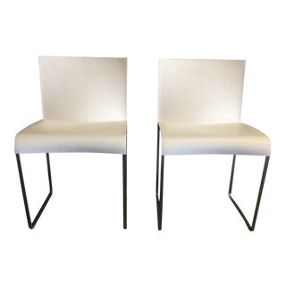 Modern Tagliablue Skid Chairs- a Pair For Sale