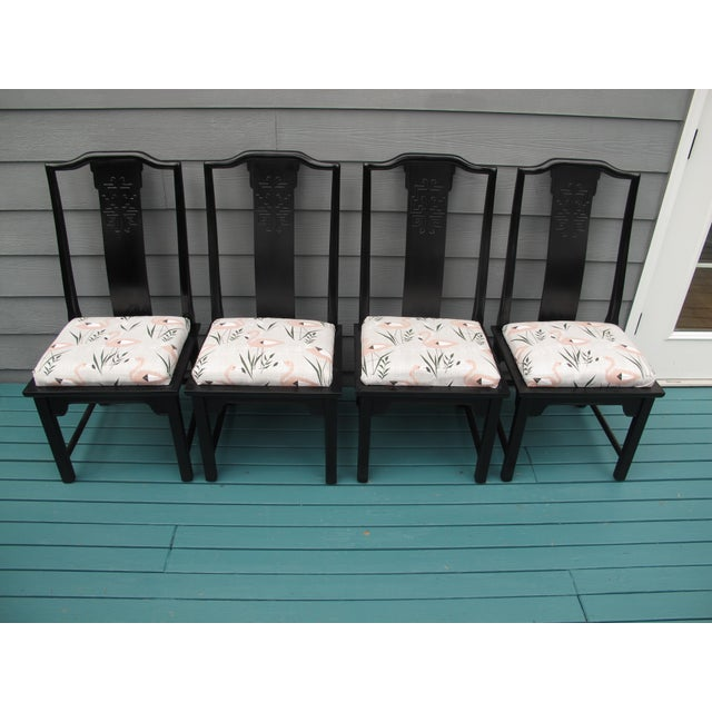 1960s 1960s Vintage Century Furniture Dining Chairs- Set of 6 For Sale - Image 5 of 8
