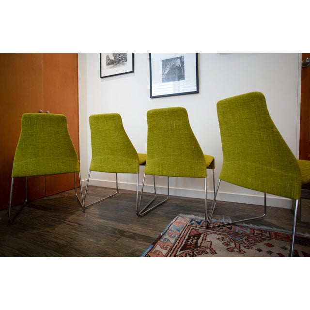 B&B Italia B & B Italia Lazy 05 Dining Chairs - Set of 4 For Sale - Image 4 of 7