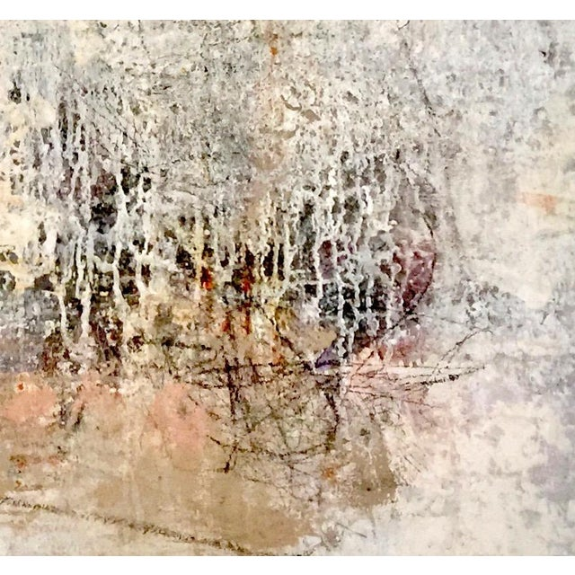 Abstract, Mixed Media painting on canvas and stretched on 2 inch stretcher bars. It is painted with many layers of acrylic...