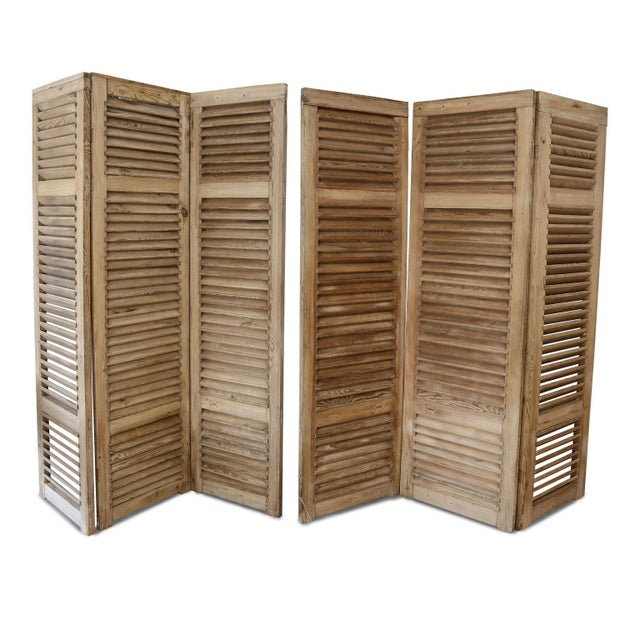 Set of Six Vintage French Shutters For Sale - Image 13 of 13