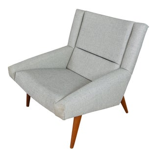 Illum Wikkelsø for Søren Willadsen Model 50 Danish Lounge Chair For Sale