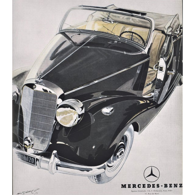 You can own this classic Mercedes-Benz 170S convertible! Take it home now and enjoy! This car was the epitome of luxury....