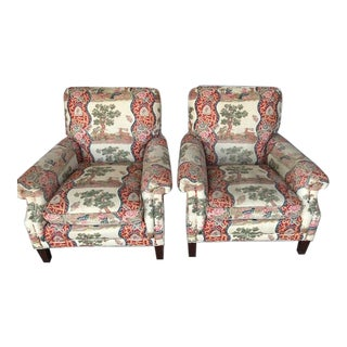 Brunschwig & Fils Chairs - Set of 2