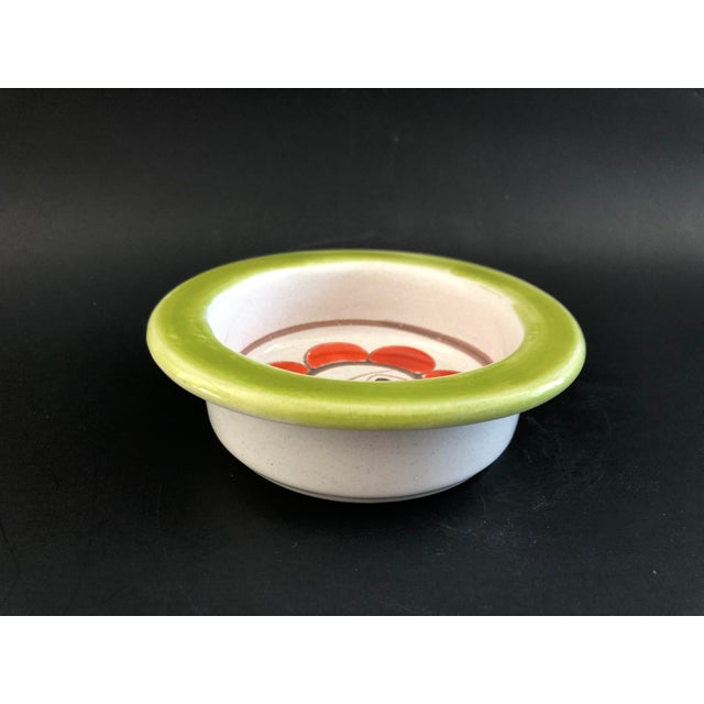 Abstract Giovanni DeSimone Mid Century Pottery Bowl For Sale - Image 3 of 12