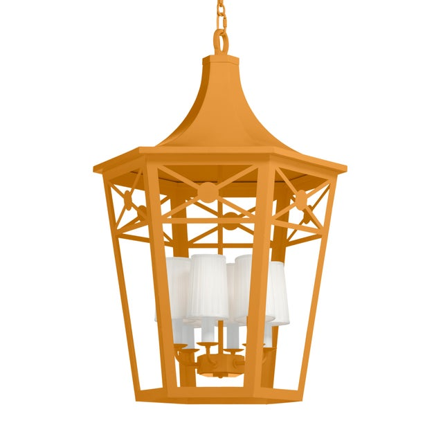 Casa Cosima Designers' Palette Bennington Lantern, Dash of Curry For Sale - Image 4 of 4