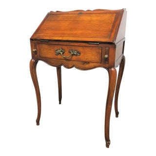 Louis XV Style Cherry Ladies Writing Desk For Sale