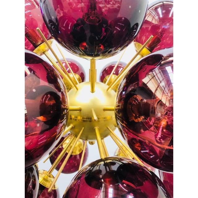 Ventiquattro Sputnik Chandelier by Fabio Ltd For Sale - Image 9 of 12