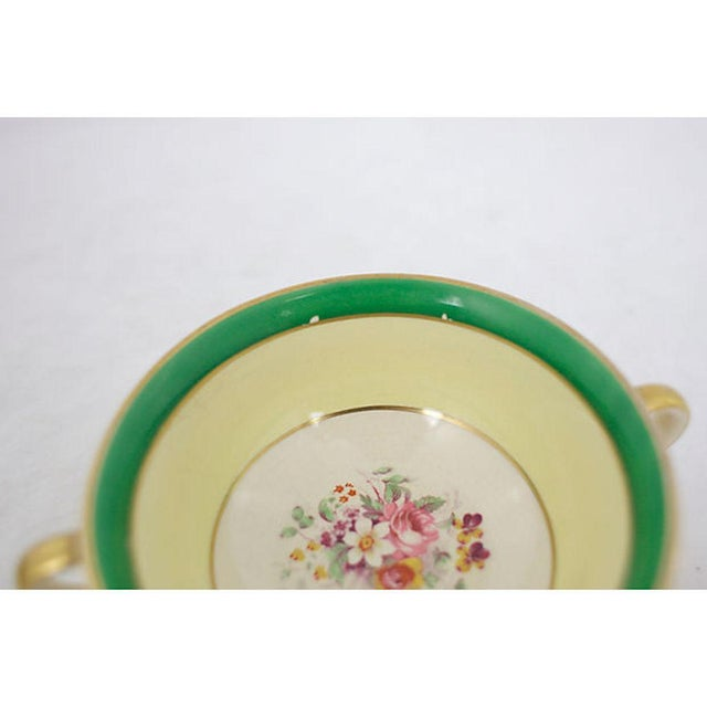 Green 1930s China Set, 27 Pcs. For Sale - Image 8 of 9