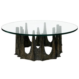 Paul Evans Stalagmite Brutalist Coffee Table, 1969 For Sale