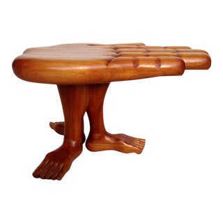 Surrealism Sculptural Hand Table Pedro Friedeberg For Sale