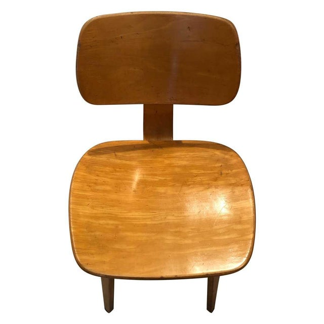 Wood Vintage Mid Century Thonet Bent Plywood Chairs- Set of 6 For Sale - Image 7 of 8
