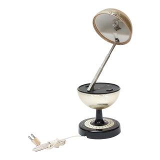 Vintage Japanese Adjustable World Globe Lamp For Sale