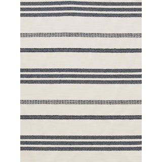 Scalamandre Marina Stripe Orage Fabric For Sale