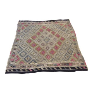 "1960's Turkish Kilim - 6'3""x7'9"" For Sale"