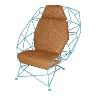 Custom Handmade Powder Coated Chair For Sale